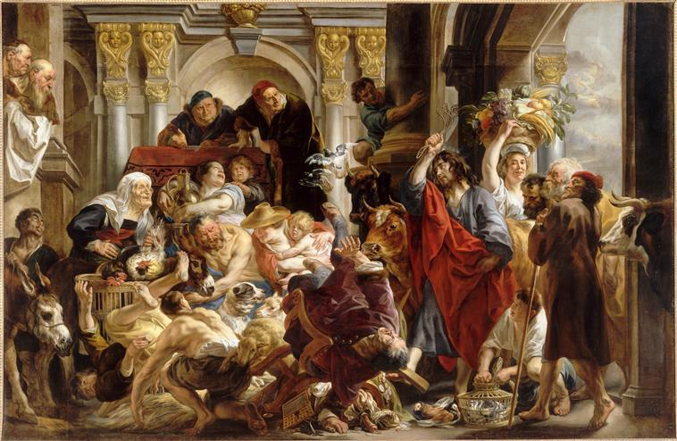 JESUS CHASSANT LES MARCHANDS DU TEMPLE_0