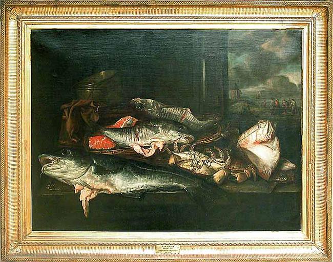 Nature morte aux poissons_0