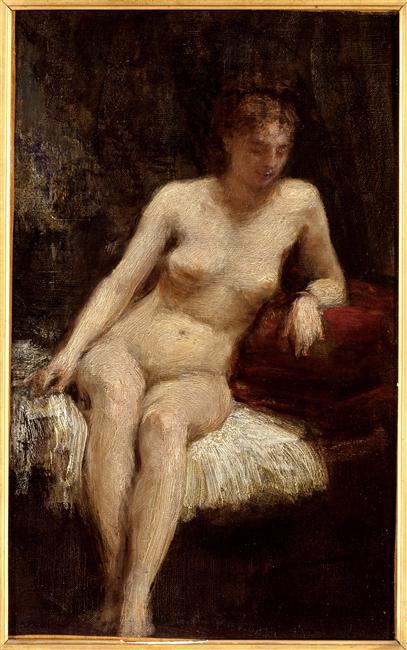 Etude de femme nue_0