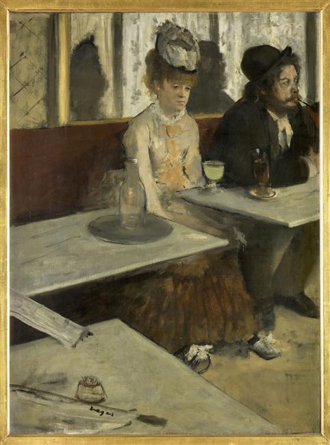 DANS UN CAFE, DIT AUSSI L'ABSINTHE_0