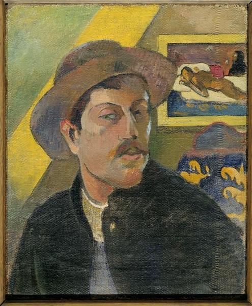 Portrait de l'artiste ; au revers Portrait de William Molard_0