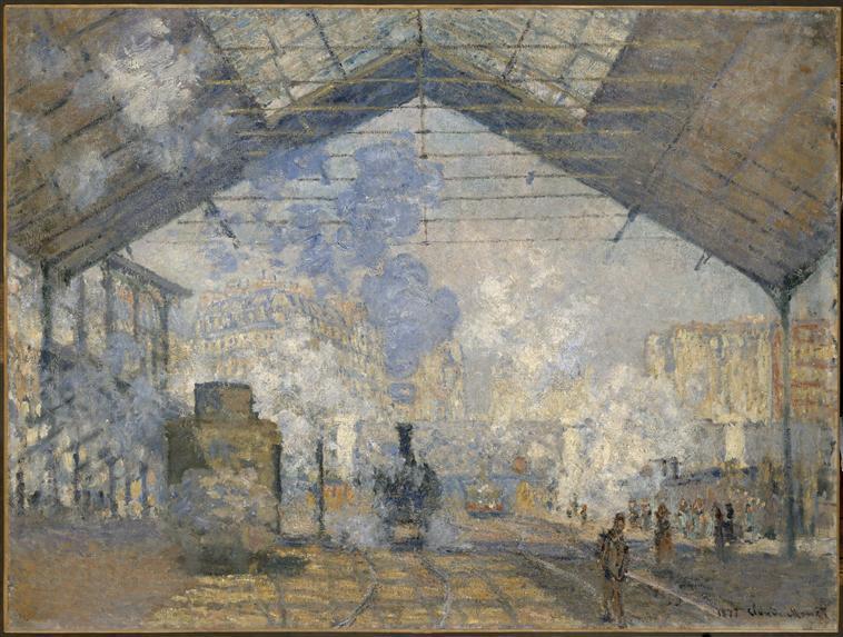 La gare Saint Lazare_0