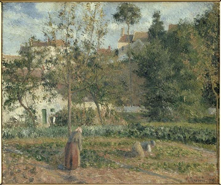 Jardin potager à l'hermitage, Pontoise_0