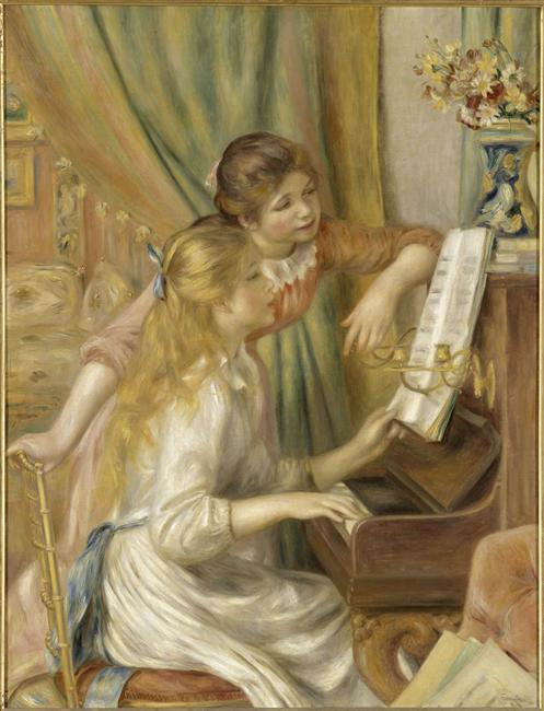 Jeunes filles au piano_0