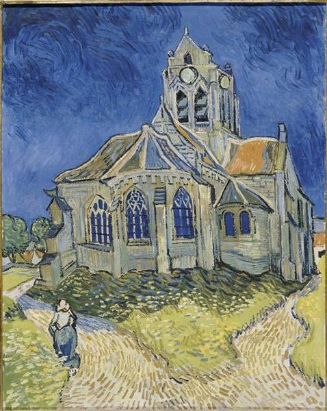 L'église d'Auvers-sur-Oise_0
