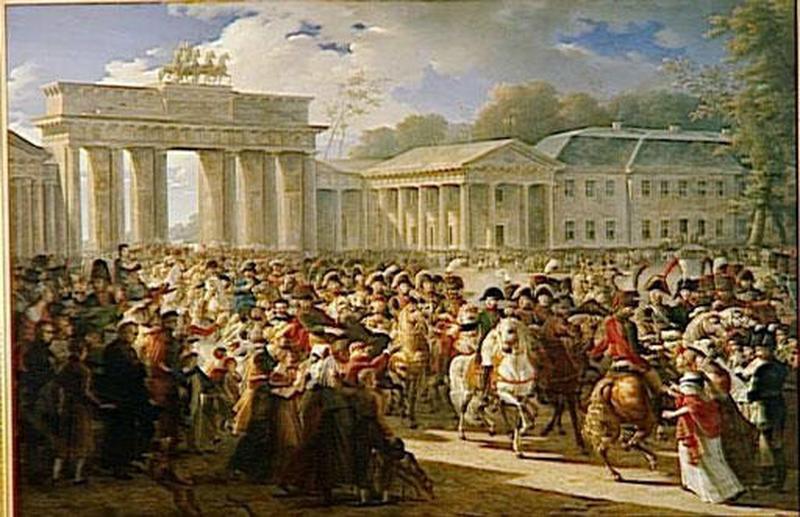 ENTREE DE NAPOLEON A BERLIN.27 OCTOBRE 1806_0