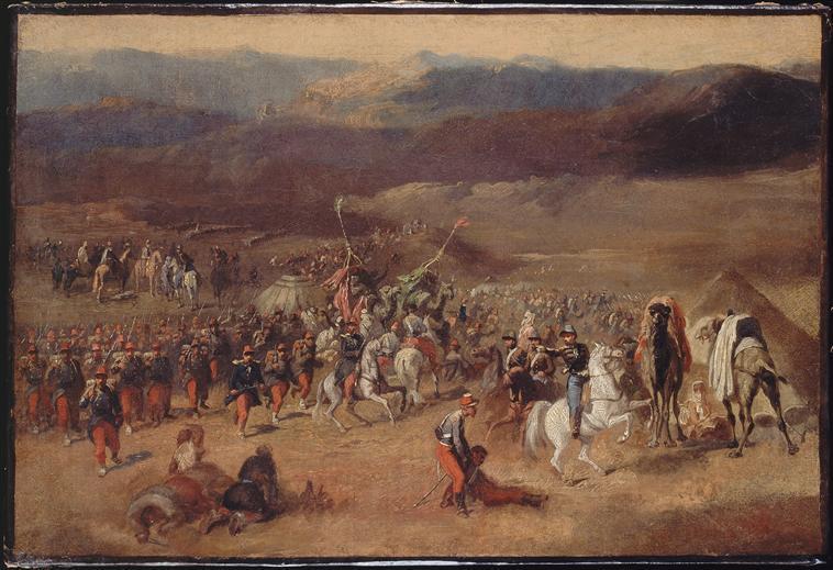 Prise de la smalah d'Abd-el-Kader à Taguin, 16 mai 1843_0