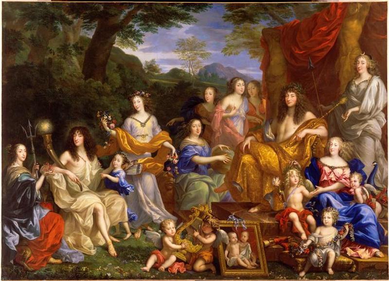 La famille de Louis XIV_0