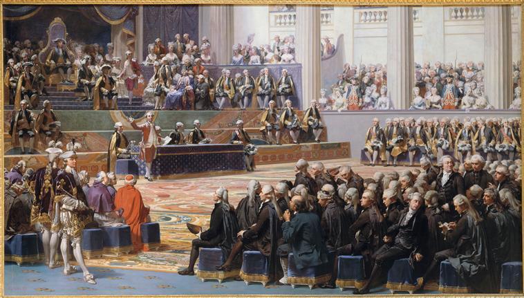 Séance d'ouverture de l'Assemblée des états généraux, 5 mai 1789_0