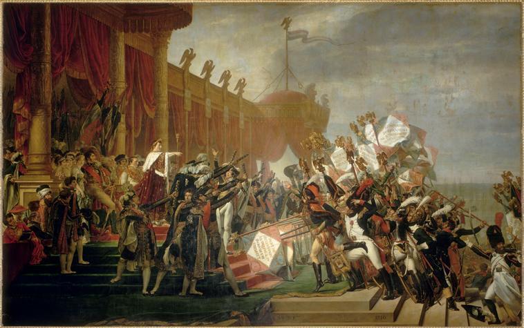 Serment de l'armée fait à l'empereur après la distribution des aigles au champ de Mars, 5 décembre 1804_0