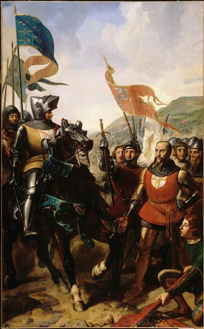 BATAILLE DE COCHEREL.16 MAI 1364_0