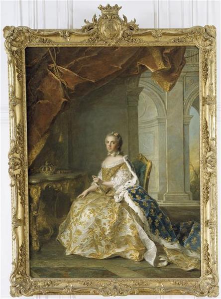 LOUISE-ELISABETH DE FRANCE, DUCHESSE DE PARME (1727-1759) ; DITE AUTREFOIS MADAME VICTOIRE_0
