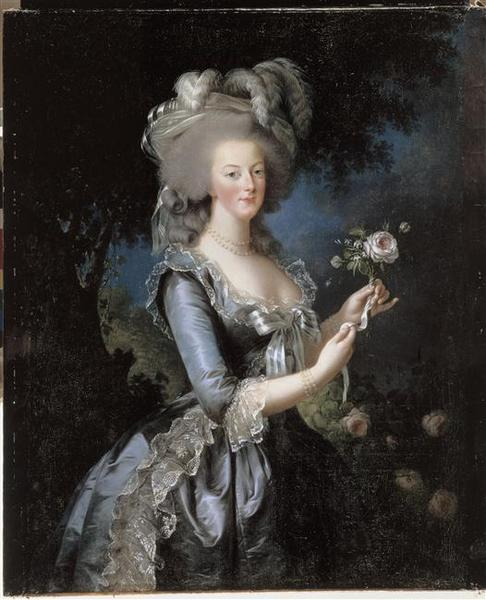 La reine Marie-Antoinette dit 'à la Rose' (1755-1793)_0