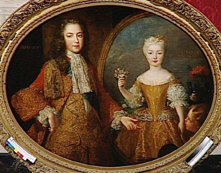 LOUIS XV ET L'INFANTE MARIE-ANNE-VICTOIRE_0