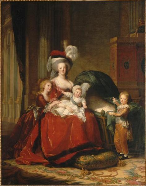Marie-Antoinette de Lorraine-Habsbourg, reine de France et ses enfants_0