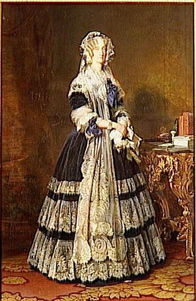 MARIE-AMELIE DE BOURBON, PRINCESSE DES DEUX SICILES, REINE DES FRANCAIS (1782-1866)_0