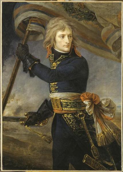 LE GENERAL BONAPARTE AU PONT D'ARCOLE.17 NOVEMBRE 1796_0