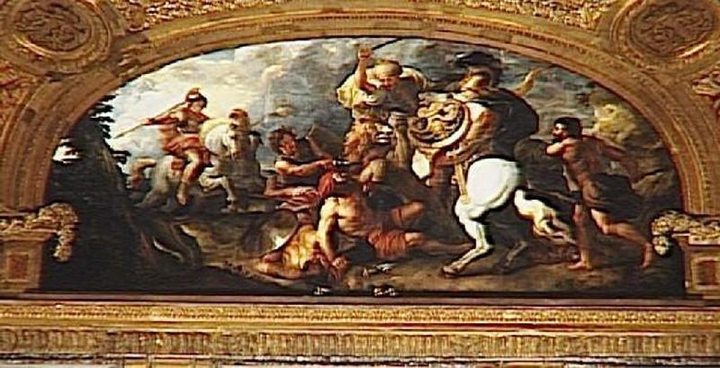 Alexandre à la chasse au lion_0