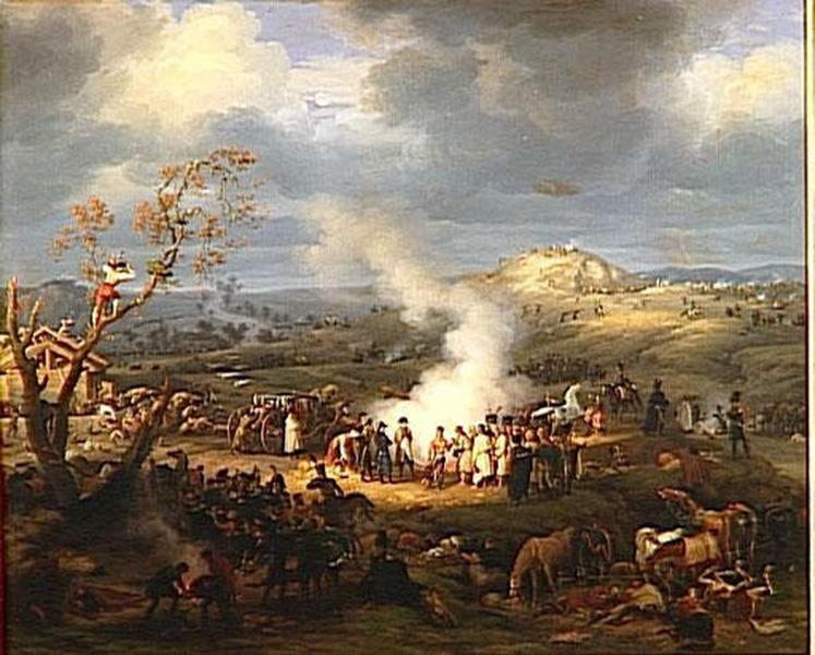 BIVOUAC DE NAPOLEON A LA VEILLE D'AUSTERLITZ.1ER DECEMBRE 1805_0