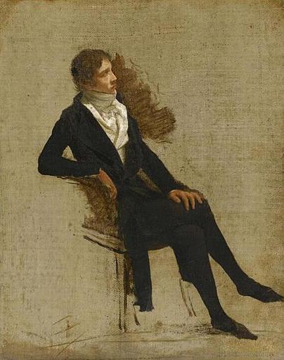 PORTRAIT DE ANTOINE-DENIS CHAUDET (1763-1810)_0