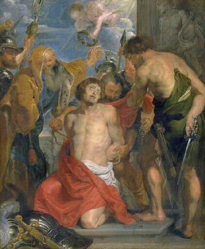 Le martyre de Saint Georges_0