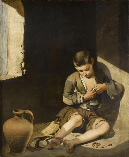 Le jeune mendiant_0