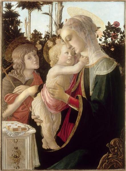 LA VIERGE ET L'ENFANT AVEC SAINT JEAN-BAPTISTE ENFANT_0