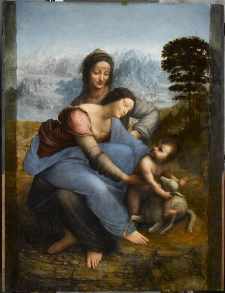 La Vierge, l'enfant Jésus et sainte Anne_0