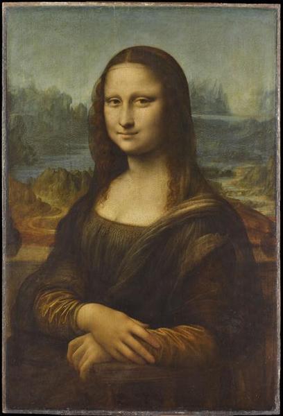 PORTRAIT DE MONA LISA (1479-1528) ; DITE LA JOCONDE_0