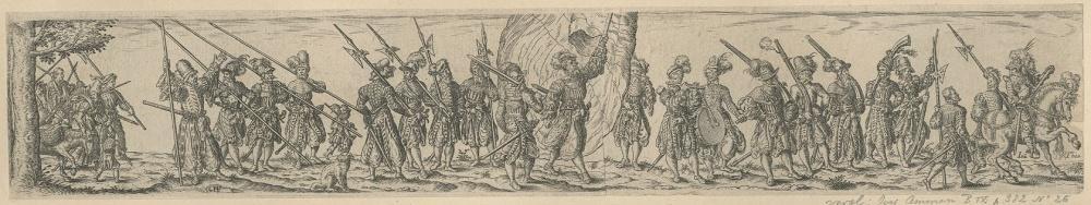 Procession de soldats_0