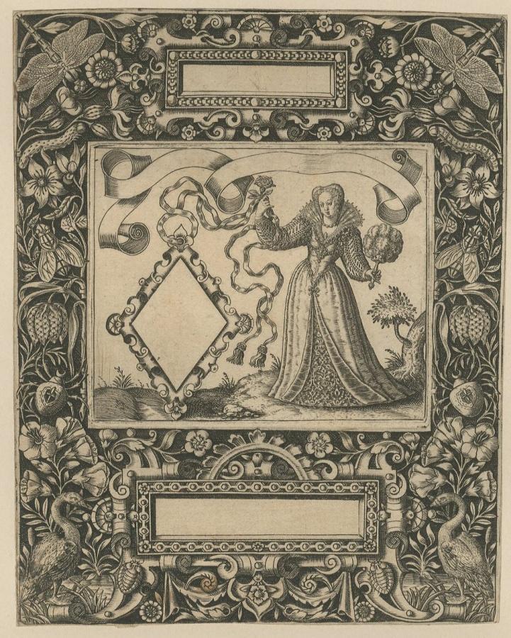 Emblemata Nobilitati ; Gravure d'ornement_0
