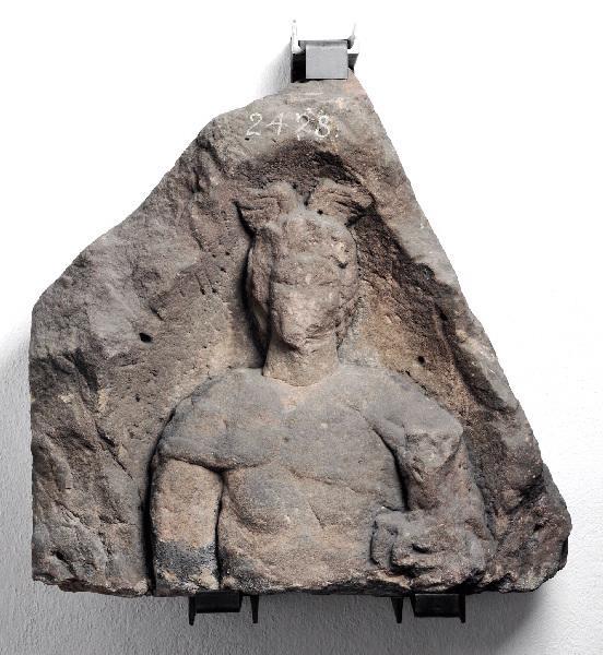 Stèle de Mercure portant Bacchus_0