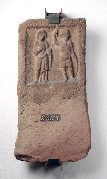 Stèle de Mars et d'une déesse_0
