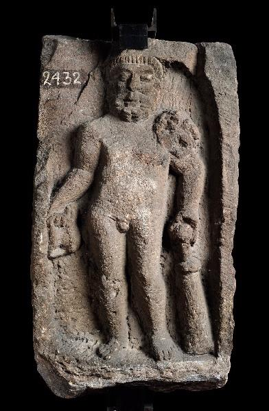 Stèle d'Hercule au canthare_0