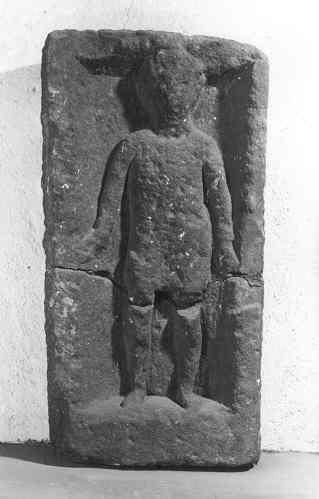 Stèle votive à petit personnage_0