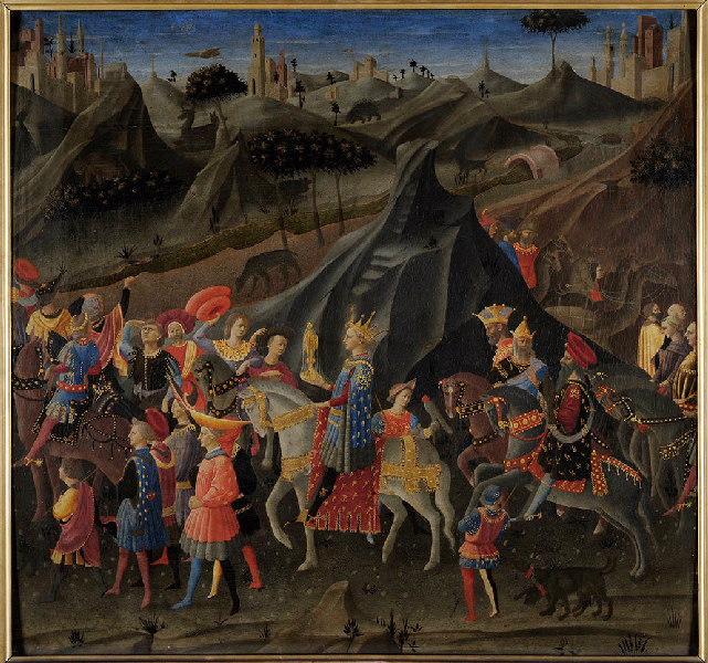 Voyage du roi Mage Balthazar vers la Terre sainte ; Le Cortège des Mages_0