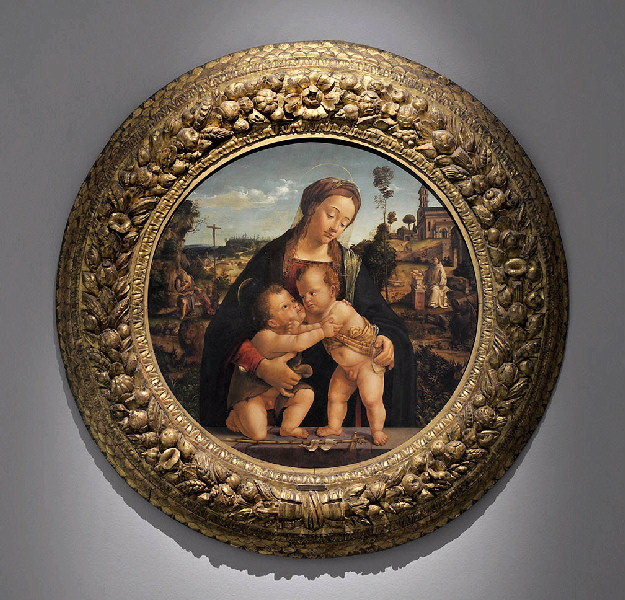 La Vierge à l'Enfant avec le jeune saint Jean (Baptiste)_0