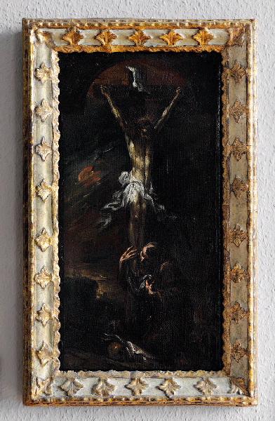 Le Christ en croix avec saint François d'Assise_0