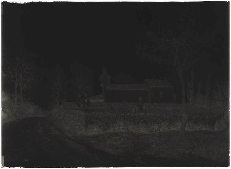 ARNAUDIN Félix : église et cimetière (Titre attribué)