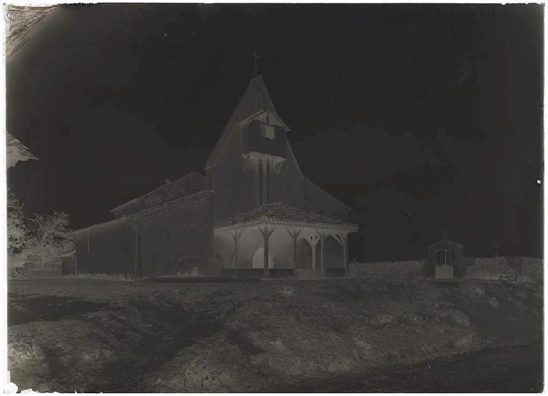 église et cimetière (Titre attribué)
