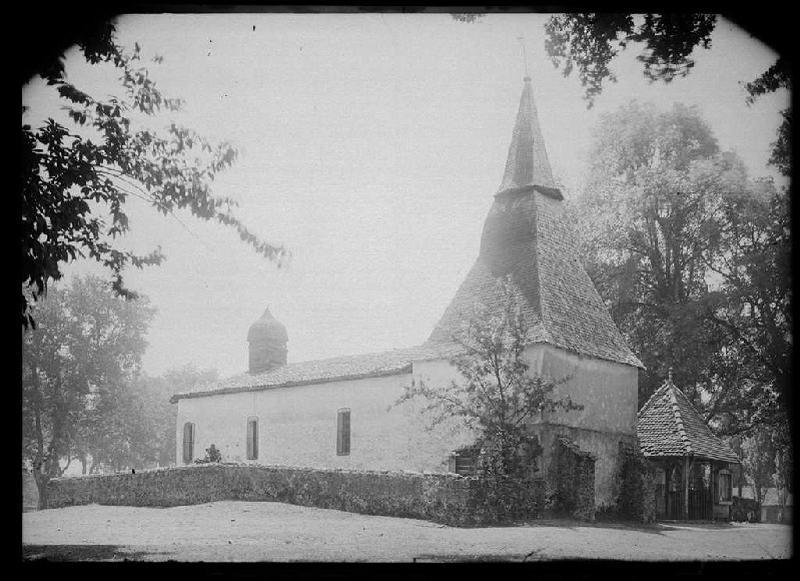 ARNAUDIN Félix : église (Titre attribué)