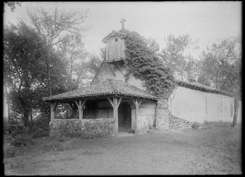Chapelle Saint-Eutrope - Le Muret (Landes) (Titre attribué)_0