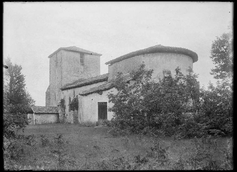 ARNAUDIN Félix : église Saint-Michel - Lugos (Gironde) (Titre attribué)