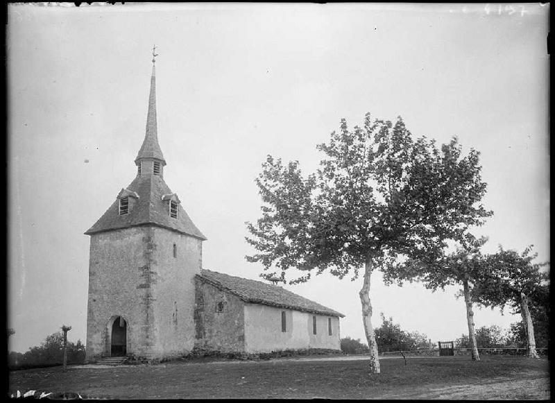 ARNAUDIN Félix : église 'de la Portène' - Luglon (Landes) (Titre attribué)