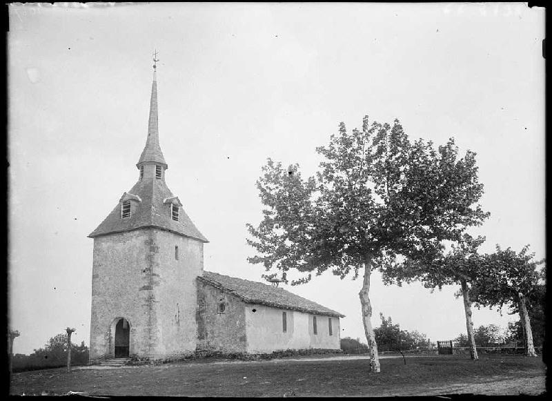 Église 'de la Portène' - Luglon (Landes) (Titre attribué)_0
