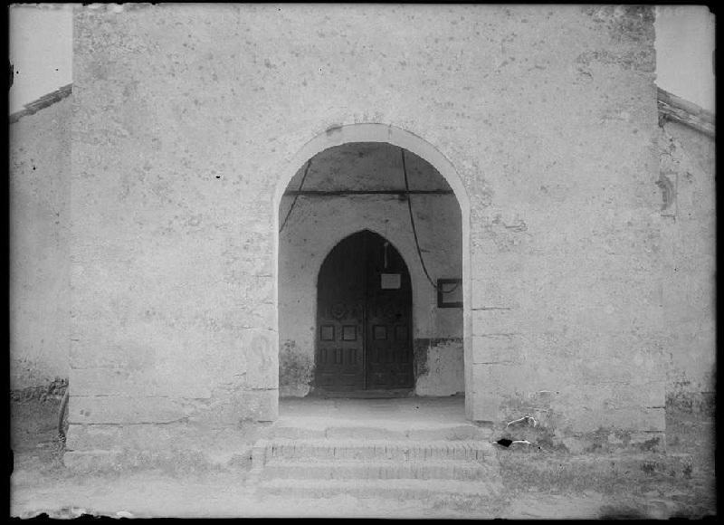 Portail de l'église - Luglon (Landes) (Titre attribué)_0
