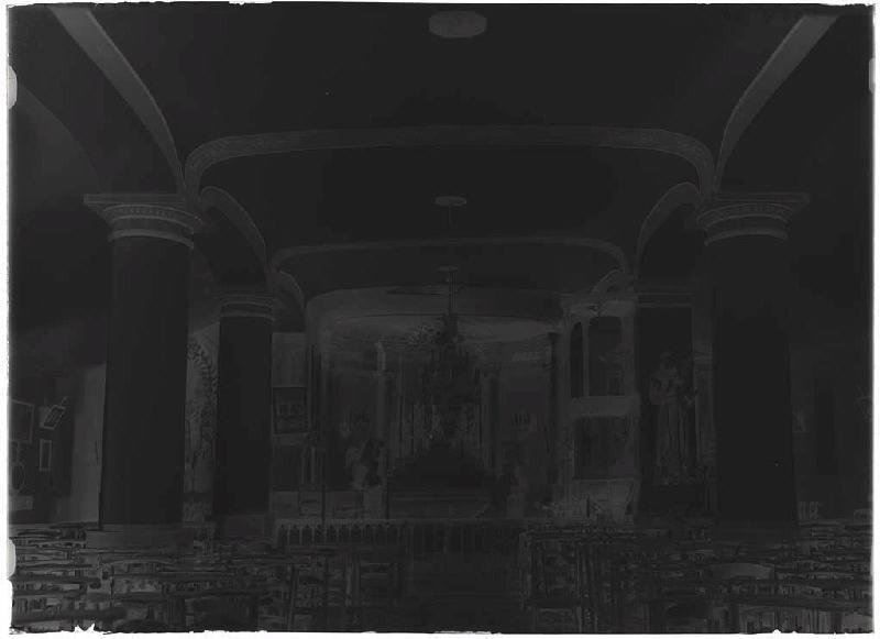 Intérieur de l'église - Luglon (Landes) (Titre attribué)