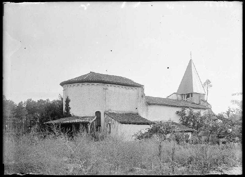 ARNAUDIN Félix : église de Richet - Pissos (Landes) (Titre attribué)