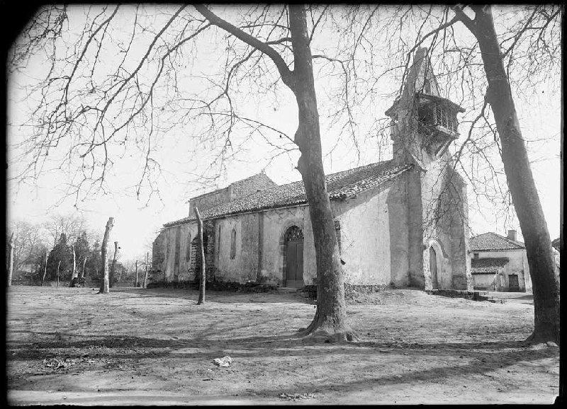 ARNAUDIN Félix : église Notre-Dame - Moustey (Landes) (Titre attribué)