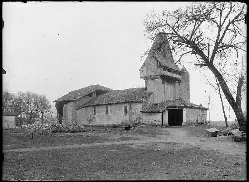 ARNAUDIN Félix : église Saint-Jean - Sore (Landes) (Titre attribué)